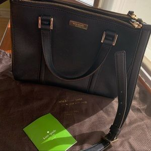 KATE SPADE Medium Black Shoulder Bag